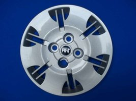 Wieldoppen Fiat Panda blauw logo 13 inch FIA71613