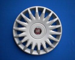 Wieldoppen Fiat Stilo New Logo 15 inch   FIA72715NW