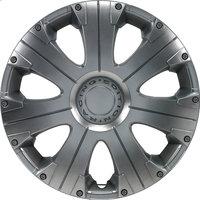 4-Delige Wieldoppenset Racing 16-inch zilver