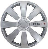 4-Delige Wieldoppenset RS-T 16-inch zilver