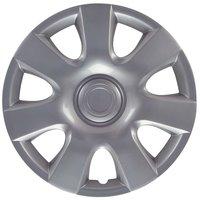 4-Delige Wieldoppenset Oregon 15-inch zilver