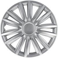 4-Delige Wieldoppenset Intenso Pro 16-inch zilver + chroom ring