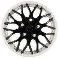4-Delige Wieldoppenset Missouri 16-inch zwart/witte rand