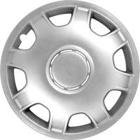 4-Delige Wieldoppenset VAN 16-inch zilver