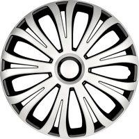 4-Delige Wieldoppenset Avera 15-inch zilver/zwart