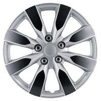 4-Delige Wieldoppenset Arkansas 16-inch zilver/gunmetal