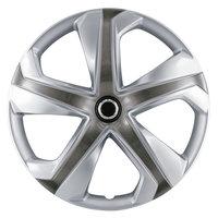 4-Delige Wieldoppenset Dakota 16-inch zilver/gunmetal