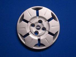 Wieldoppen Fiat Panda blauw logo 13 inch FIA71713