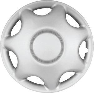4-Delige Wieldoppenset Alabama 2 15 Inch Silver