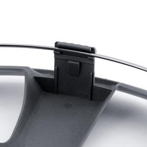 4-Delige Wieldoppenset Arkansas 15-inch zilver/gunmetal
